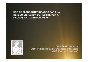 Uso de Micobacteriófagos para la detección rápida de