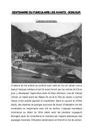 Fascicule de Jean-Claude Cochard - SEV