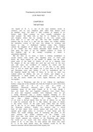 CHAPTER XV - The Masonic Trowel