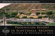 Phoenician Resort in Scottsdale, Arizona - the AAPG Foundation