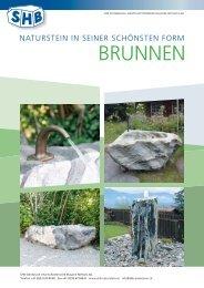 BRUNNEN - SHB Steinbruch + Hartschotterwerk Blausee – Mitholz AG