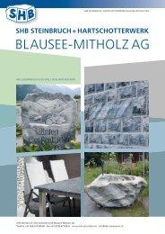 SHB Steinbruch + Hartschotterwerk Blausee – Mitholz AG