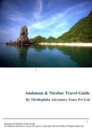Andaman & Nicobar Travel Guide - Thrillophilia