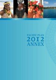 Annex - Pacific Islands Forum Secretariat