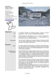 Fakten Steinbruch Blausee-Mitholz - SHB Steinbruch + ...