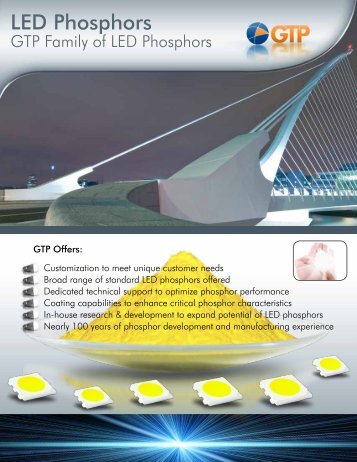 LED Phosphors - GTP