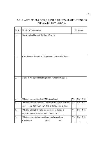 Self Apprisal Form   AP Online