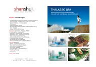 Thalasso - Wellness Lachen, shanshui und Power Plate Center