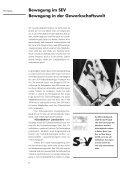 Bewegung im SEV Bewegung in der Gewerkschaftswelt - Seite 7