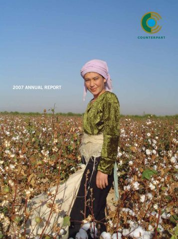 2007 AnnuAl RepoRt - Counterpart International