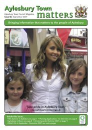 Issue 06 Sept 2007 - Aylesbury Town Council