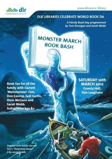Monster March Book Bash - Dun Laoghaire-Rathdown County Council