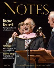 Doctor Brubeck - Eastman School of Music - University of Rochester