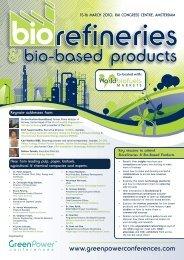 Biorefineries & Bio-Based Products - SusChem