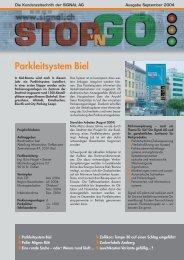 Parkleitsystem Biel - Signal AG