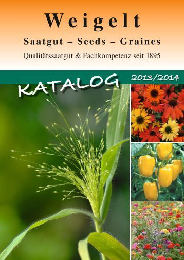 Katalog 2013/2014 (pdf-Datei, 30MB) - Weigelt & Co. Erfurter ...