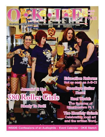 580 Roller Girls - OKIE Magazine