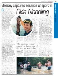 Okie Noodling - Kodak