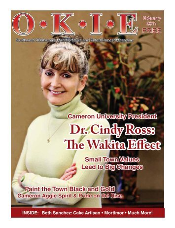 Dr. Cindy Ross: The Wakita Effect - OKIE Magazine