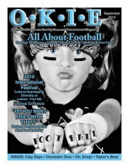 All About Football - OKIE Magazine