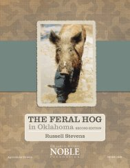 The Feral Hog in Oklahoma: Second Edition - The Samuel Roberts ...