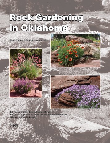 Rock Gardening in Oklahoma - OSU Fact Sheets - Oklahoma State ...