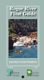 Rogue River Float Guide - Bureau of Land Management
