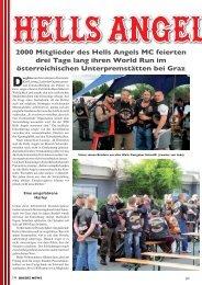 2000 Mitglieder des Hells Angels MC feierten drei Tage lang ihren ...