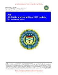 ATF (U) OMGs and the Military 2010 Update - Public Intelligence