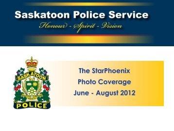 The StarPhoenix Photo Coverage June - August 2012 - Saskatoon ...