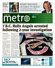 7 B.C. Hells Angels arrested following 2-year investigation - Metro