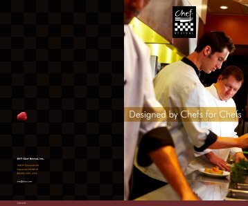 Designed by Chefs for Chefs® - Chef Revival