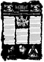 # 1/2007 - Kampf Records