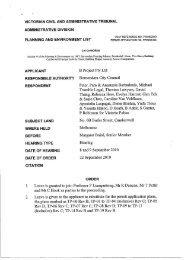 victorian civil and administrative tribunal administrative division ...