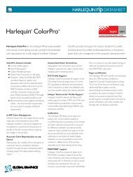 Harlequin RIP ColorPro - Global Graphics
