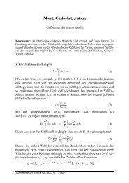 Dietmar Herrmann: Monte-Carlo-Integration - Stochastik in der Schule