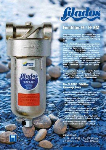 Feinfilter FF / FF KM - Filados AG