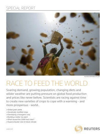 RACE TO FEED THE WORLD - Thomson Reuters