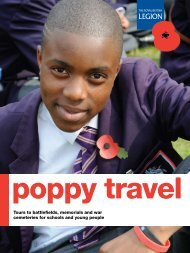 Poppy Travel - The Royal British Legion