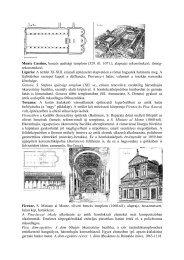 Monte Cassino, bencés apátsági templom (529. ill. 1071.), alaprajzi ...
