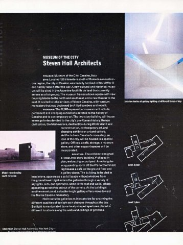 Steven Holl Architects - AAM