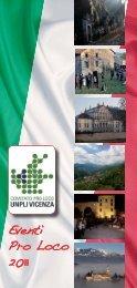 Manifestazioni libretto 2011.indd - Comune di Valstagna