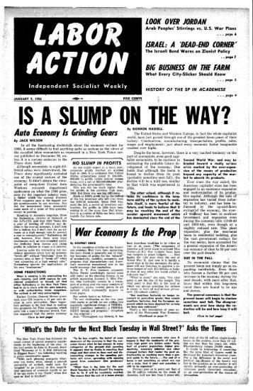 Volume 20, No. 2 January 9, 1956
