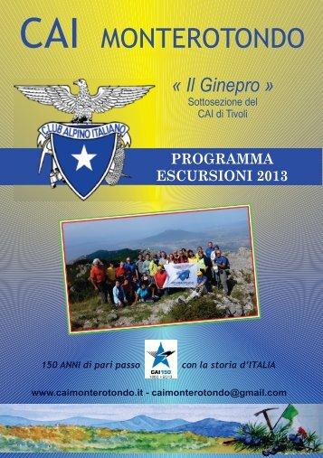 programma def 1 - Monterotondo
