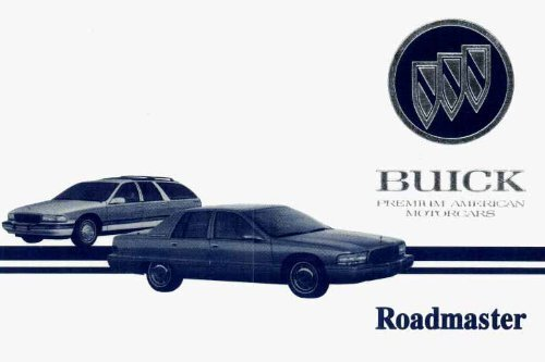 Gm Extended Warranty >> 1995 Buick Roadmaster Owners Manual Gm Extended Warranty