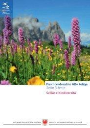 Sciliar e biodiversita - Provincia Autonoma di Bolzano