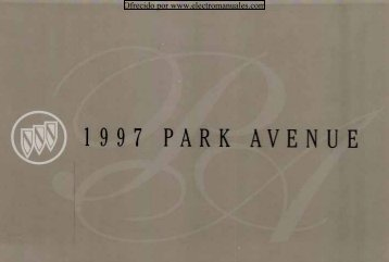 1997 Buick Park Avenue Owner's Manual - Electromanuals.org