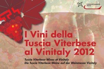 I Vini della Tuscia Viterbese al Vinitaly 2012 - CCIAA di Viterbo