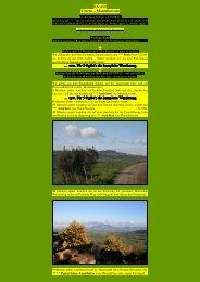 Viterbo – Montefiascone - Kunstwanderungen