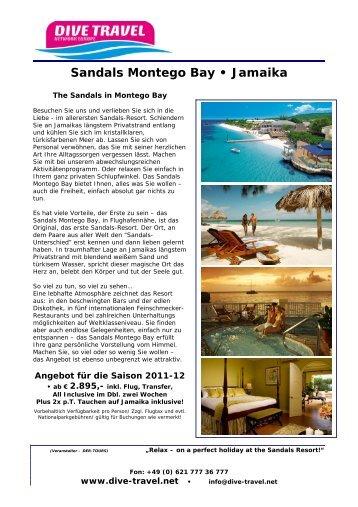 Sandals Montego Bay • Jamaika